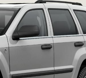 WK Chrome Window Moldings