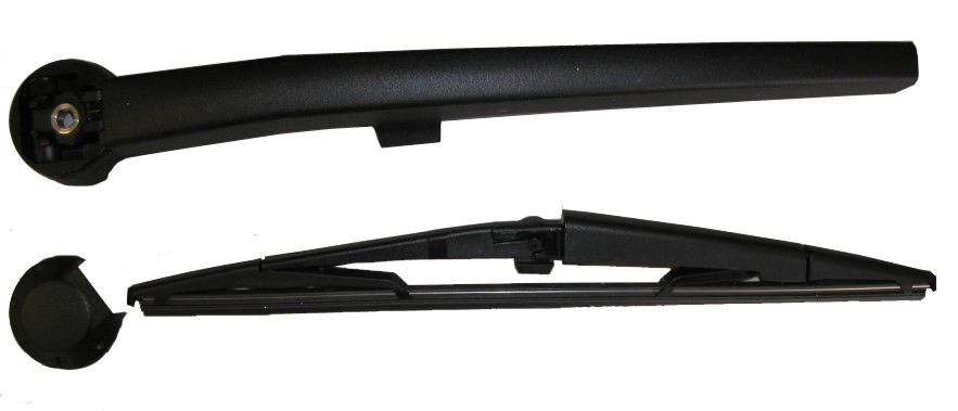 Mopar Rear Wiper Blade, Arm & Cap for 2005-2010 Grand Cherokee WK