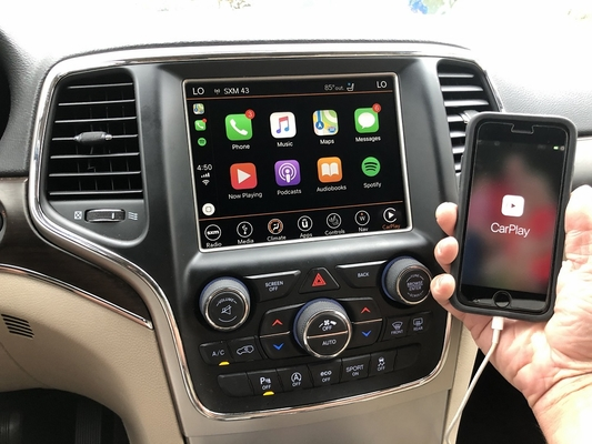 "Infotainment 8.4"" 4C NAV UAQ Radio with Apple Carplay & Android Auto for 2014-2020 Grand Cherokee WK2"