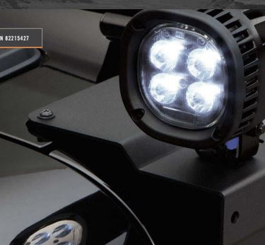 Wrangler JL 5-Inch Off-Road LED Light Kit