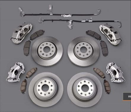 Wrangler JL Big Brake Kit