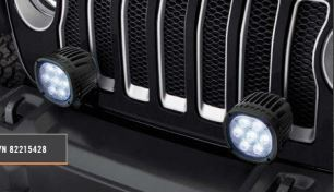 Wrangler JL Bumper-Mount Light Bracket