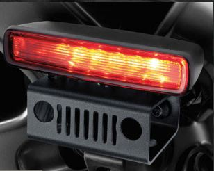 Wrangler JL Center High-Mount Stop Light (CHMSL) Relocation Kit