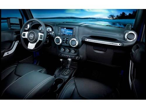Wrangler Polar Edition Interior Trim Kit