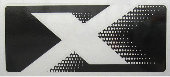 X Decal