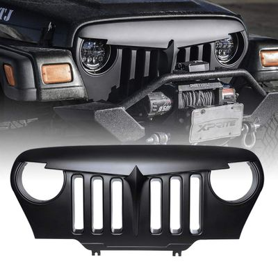 Xprite Angry Bird Grille for Jeep Wrangler TJ