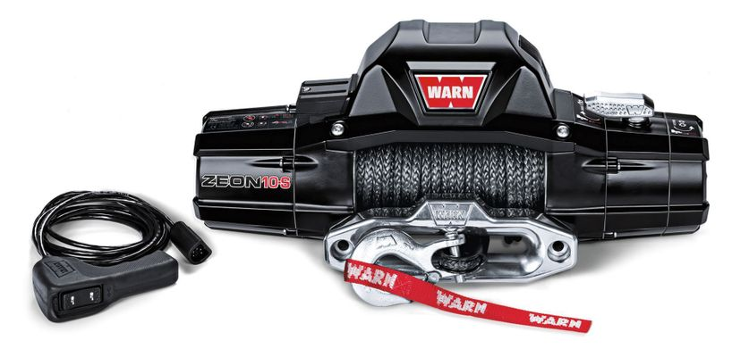 Warn Zeon 10-S Premium 10,000lb. Winch with Synthetic Cable