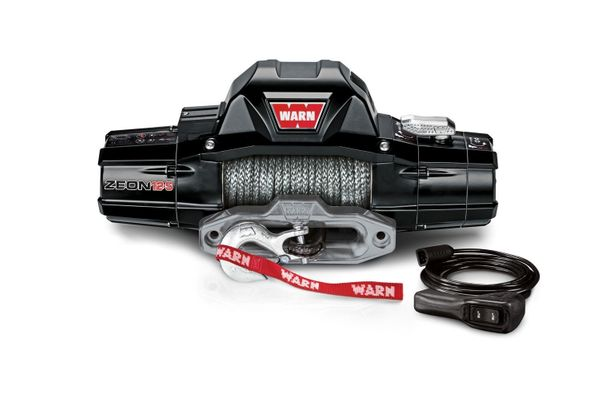 Warn Zeon 12-S Premium 12,000lb. Winch with Synthetic Cable