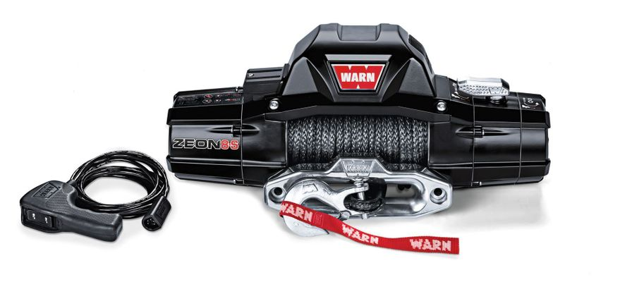 Warn Zeon 8-S Premium 8000lb. Winch with Synthetic Cable