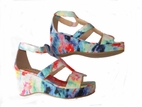 Amiana Tye Dye Funky Tween Wedge Sandals 13 1 5 8
