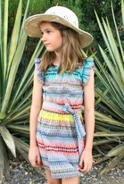 Anthem of the Ants Vibrant Petal Summer Girls Dress 8