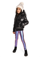 Appaman Girls Black Winter Girls Coat/Jacket  7 Last 1