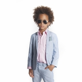 cc5bcba51 Appaman Light Blue Boy's Summer Blazer sz 14