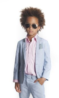 Appaman Light Blue  Boy's Summer Blazer sz 14