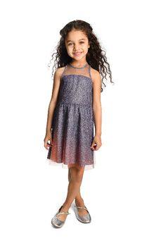 Appaman Sparkly Ombre Girls Dress