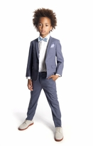 Appaman 2pc Grey Mod Linnen Boys Suit  8 12