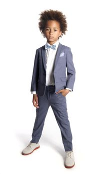 Appaman 2pc Grey Mod Linnen Boys Suit 12 Last 1