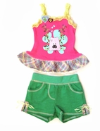 Baby Sara 2pc Little Piggy Tank Top & Shorts Set 12M