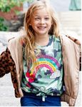 Baby Sara Camo Rainbow Little Girls Sweater *Top Seller*
