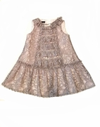 Biscotti  Adorable Baby Girl Sparkly Lace Party dress  sz 24m
