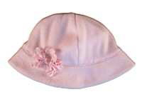"Biscotti Baby Pink  ""Fairy Dust"" Polar Fleece Infant  Girls Hat"
