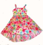 Biscotti Rose Hi-Low Tween Girls Party Dress  sz 7