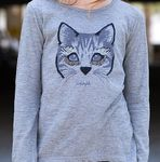 Blu by Blu Cherry Pop 2pc Grey Fox L/S Tee & Leggings 10 12