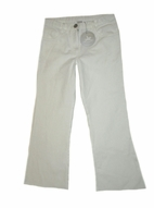 Charabia Fabulous White Cotton Pants Made in France 4 6