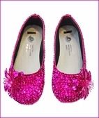 Coastal Projections Magenta Pink Sparkly Toddler Shoes 6tdlr