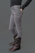 Creamie Distressed Grey Jeans w/Sparkly Pockets  10 Last 1