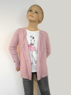 Creamie Darling Mauve Cardigan/Shrug  without Buttons 6 7
