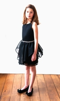 David Charles, London Black Special Occasion Peplum Dress 14