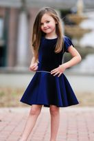 Dolls & Divas Amelia Gorgeous Navy Girls Dress *Top Seller*