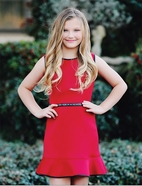 Dolls & Divas Red/Black Daddy daughter Dance Girls Dress w/Short Sleeves