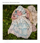 Frilly Frocks Nora Heirloom Take Me Home Newborn Gown *Top Seller*