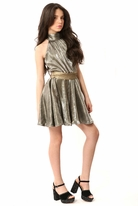 Gigi Ri Sophisticated Gold tween Party Dress 16