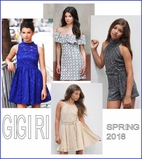 "Gigi Ri Dresses <font color=""ff0000""> NEW"