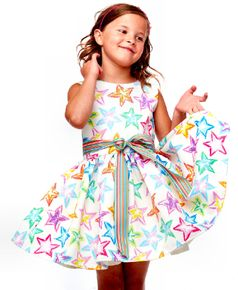 Halabaloo All Stars Girls Fit & Flare Party Dress *Top Seller* 2T 7 10