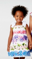 Halabaloo Floral Bouquet Girls Dress w/Petal Straps 12m Last 1