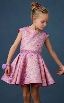 Halabaloo Galaxy Sparkly Girls Dress 8 Last 2