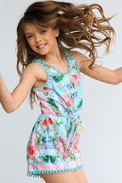 Hannah Banana 1pc Super Cute Girls Romper w/Sparkle 2T 3T 4T 4 8