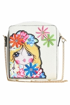 Hannah Banana Girl with Flowers Pop Art Girls Purse Pre-Order