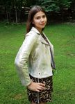 Hannah Banana Gold Leather Motto Girls Jacket *Top Seller* 14