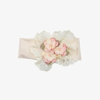 Haute Baby Beach Blush Girls Headband