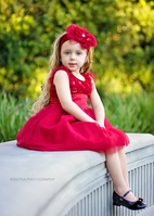 "Haute Baby ""Holiday Sparkle"" Girls Dress 4T 4  Last 2"