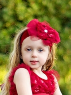 Haute Baby Holiday Sparkle Headband Toddler