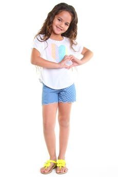 Haven Girl 2pc Tween Girl Summer Tee & Shorts Outfit  10/12
