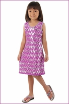 Haven Girl Beautiful Lavender Sequined Chevron party Dress  4 5