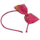 I Love Gorgeous Alice  Hot Pink Butterfly Print headband