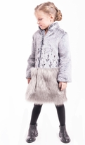 Imoga  Luxurious Girls Winter Coat Flavia *Top Seller* 7 8